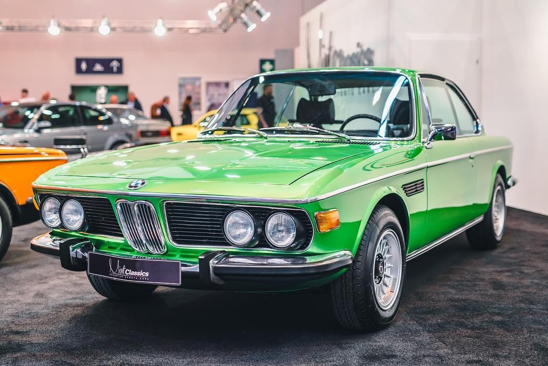 Lovely 70 S Bmw 3 0 Csi Taiga Green Bmw Bmw30cs Bmwe9