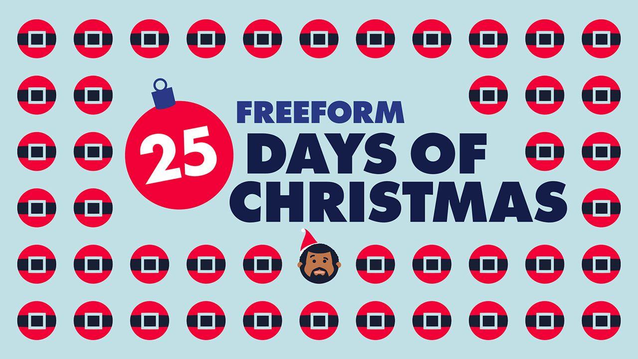 Freeform 25 Days of Christmas Giveaway! Christmas