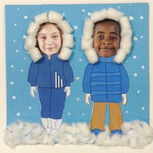 Printable Winter Clothes For Photos is part of Clothes Winter Kids - These Printable Winter Clothes For Photos are a quick and easy craft to do with the kids on a blustery day  Grandma and Grandpa will smile when they arrive