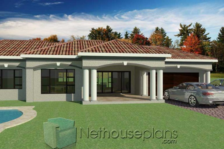 3 Bedroom House Plans South Africa House Designs Plans Nethouseplansnethouseplans In 2020 Architectural House Plans House Plans South Africa My House Plans