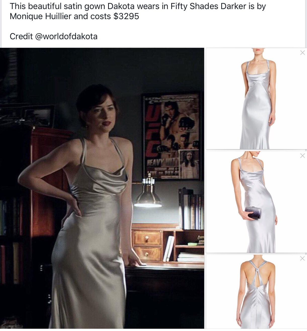 Rotes kleid fifty shades of grey 2