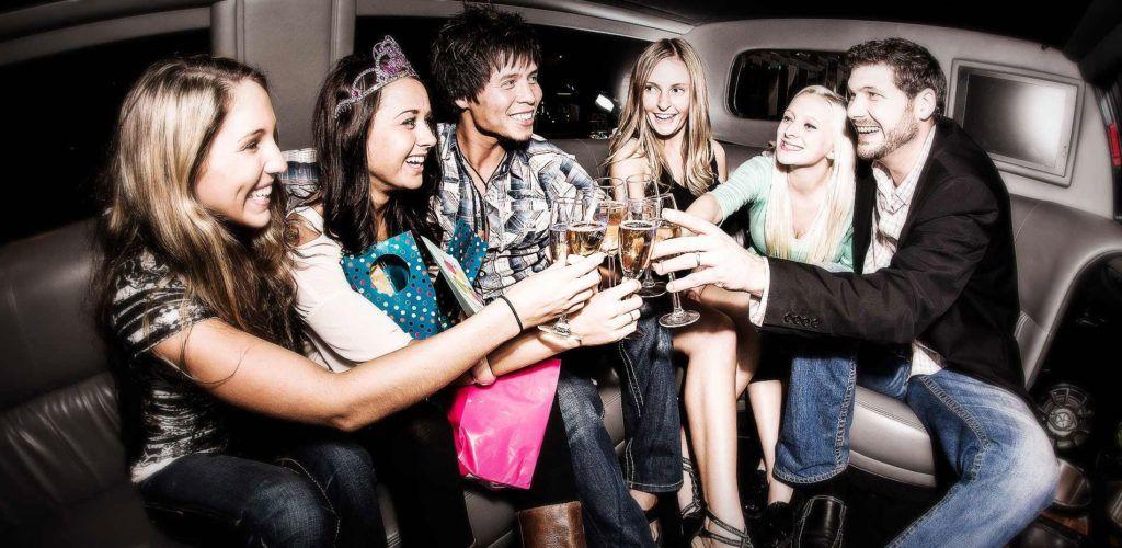 Bachelorbachelorette party limo service long island ny