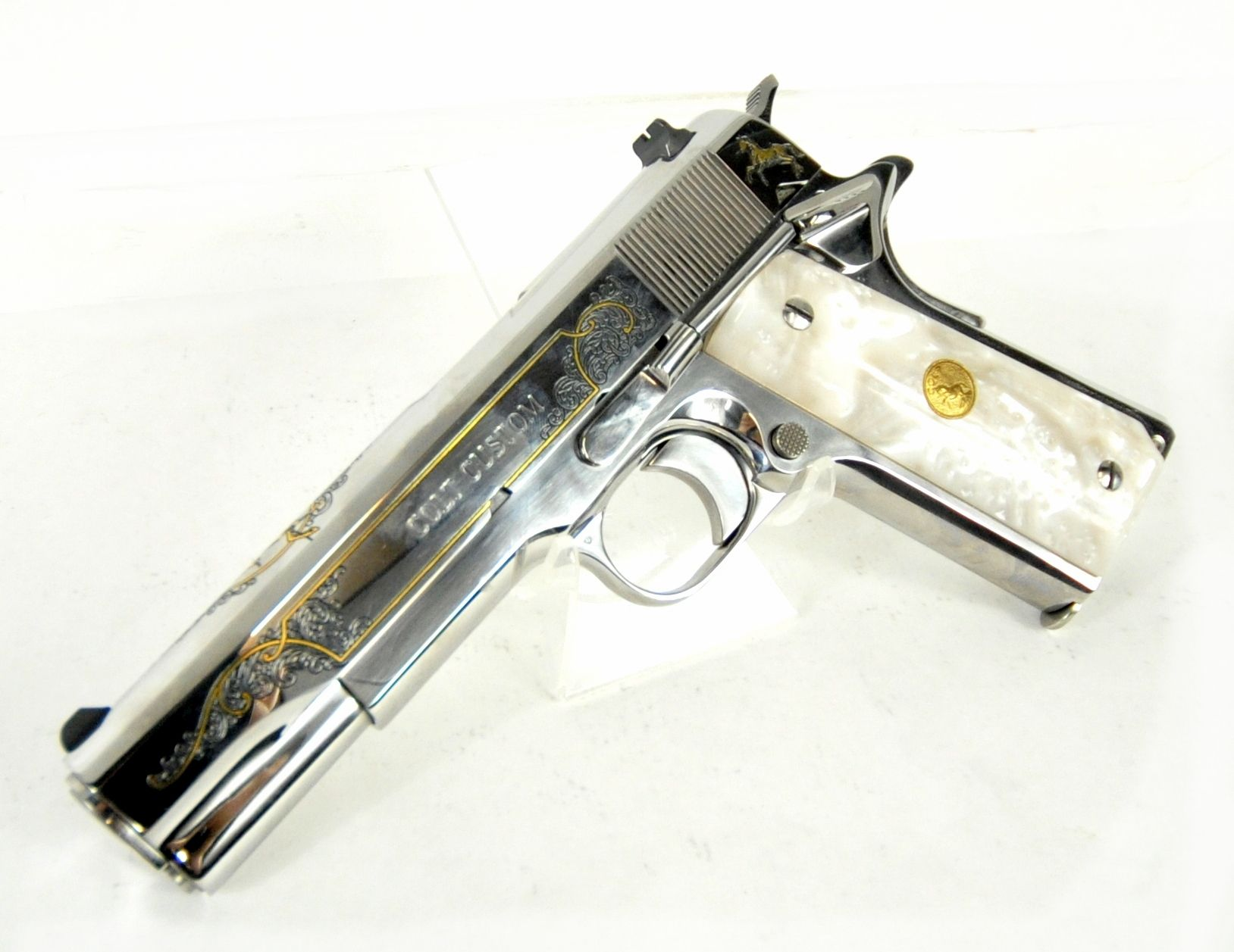 Colt Custom Mexican Eagle Premier Edition .38 Super 5\