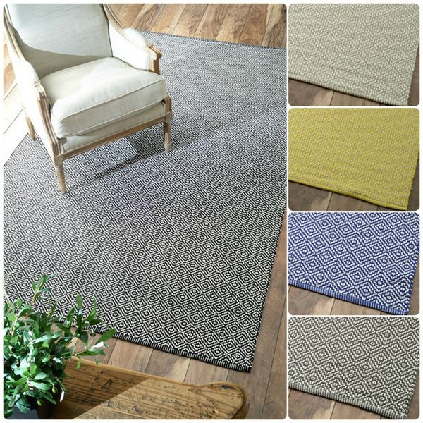 Nuloom Handmade Flatweave Diamond Cotton Rug X Ping Great Deals On Rugs