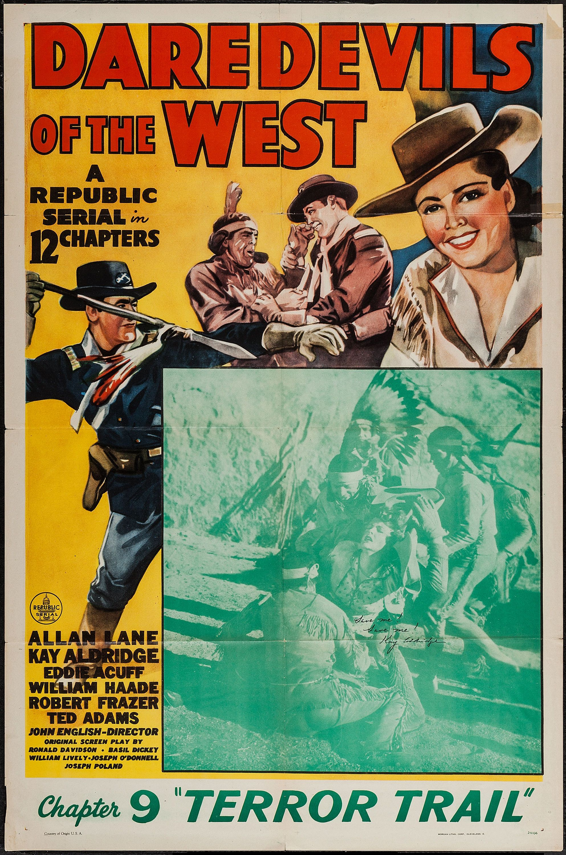 Watch Daredevils of the West Full-Movie Streaming