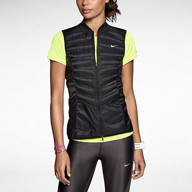 traición Egomanía Cuña  El Chaleco #Nike Aeroloft 800, te ayudará a mantenerte abrigado bajo las  carreras más frías sin añadir peso … | Running clothes, Girl running  clothes, Running women