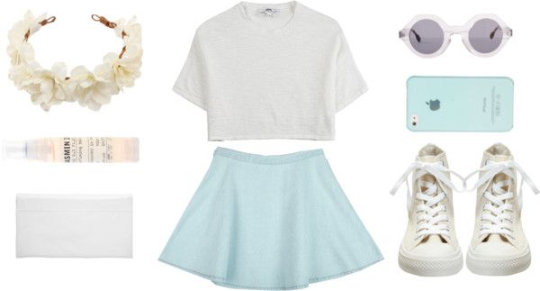 """""""summer sadness"""" by perkywallflower ❤ liked on Polyvore"""