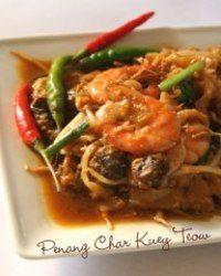 Char Kuey Teow Versi Utara Penang Char Kuey Teow Cooking Food Recipes