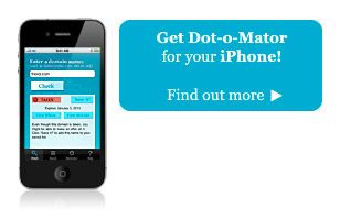 Dot-o-mator: Domain & Company Name Ideas Generator