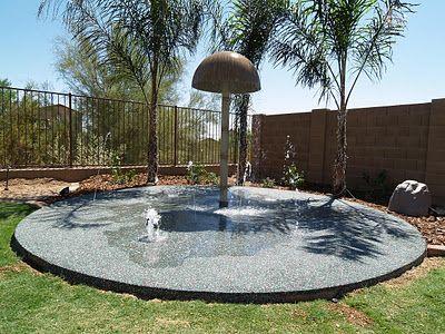 Splash Pad for our backyard.   Diy splash pad, Backyard ...