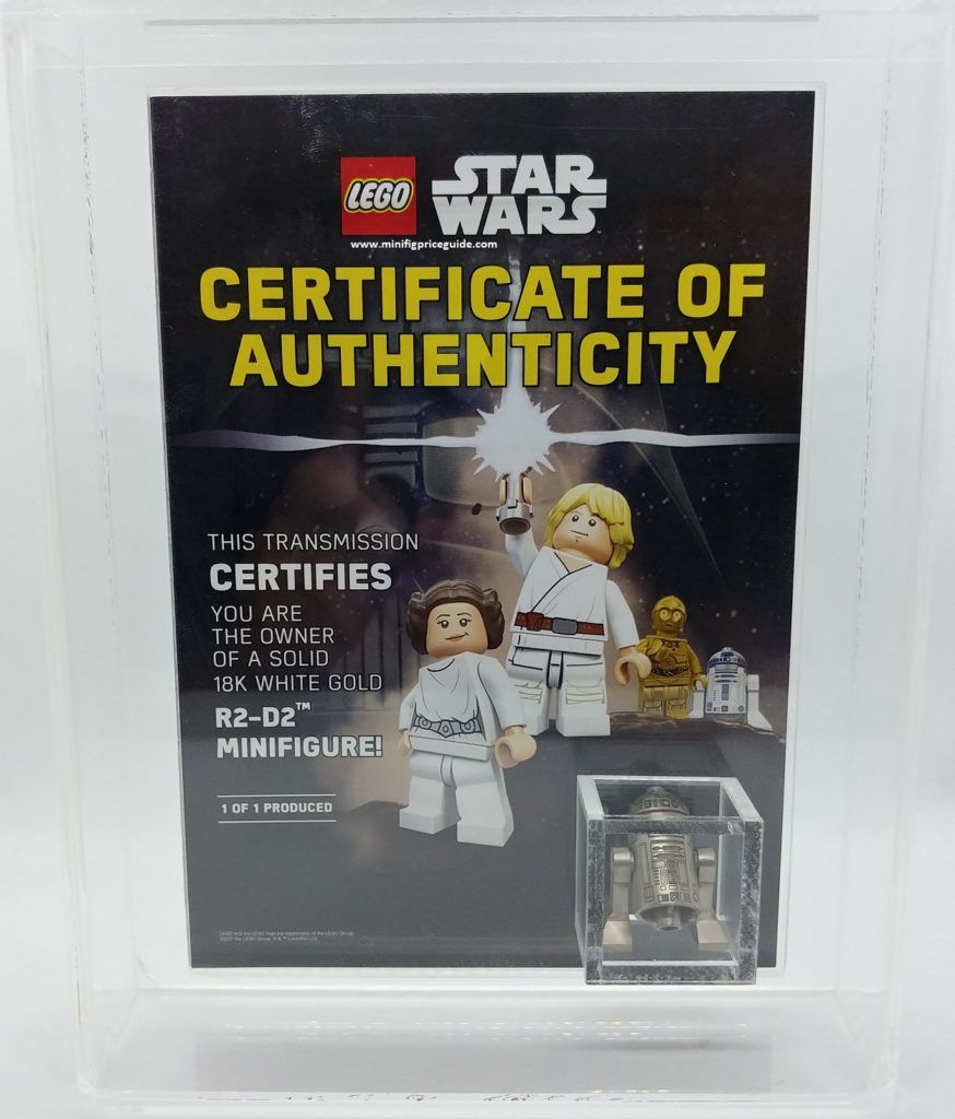 located and found rare lego 18k white gold exclusive black friday rh pinterest com Blank Price Guide Baseball Cards Price Guide