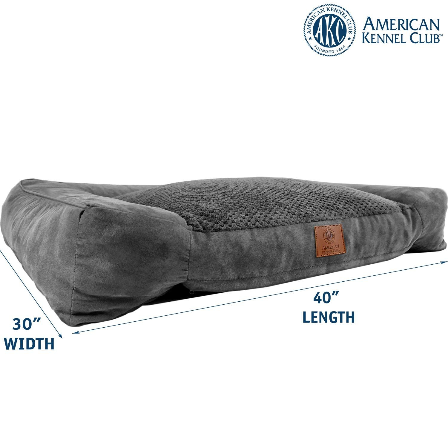 American Kennel Club Akc Memory Foam Sofa Pet Bed Click Image For More Details It Is An Affiliate Link To American Kennel Club Memory Foam Dog Bed Pet Bed
