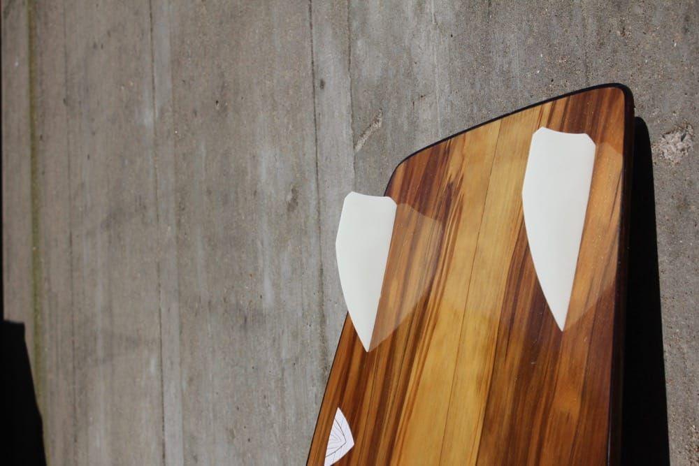 Wooden Twintip, Kiteboard 145 x 45