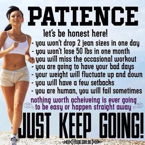 Patience. Workout InspirationMotivation InspirationQuote ...