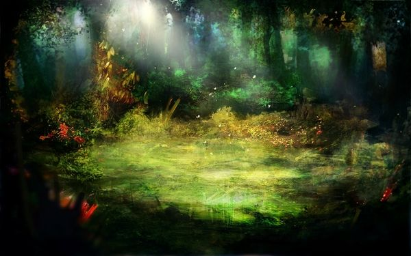Bright Forest Concept Art