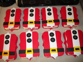 Jean's Crafty Corner: Day 19 of 20 Days of Christmas: Santa Suits