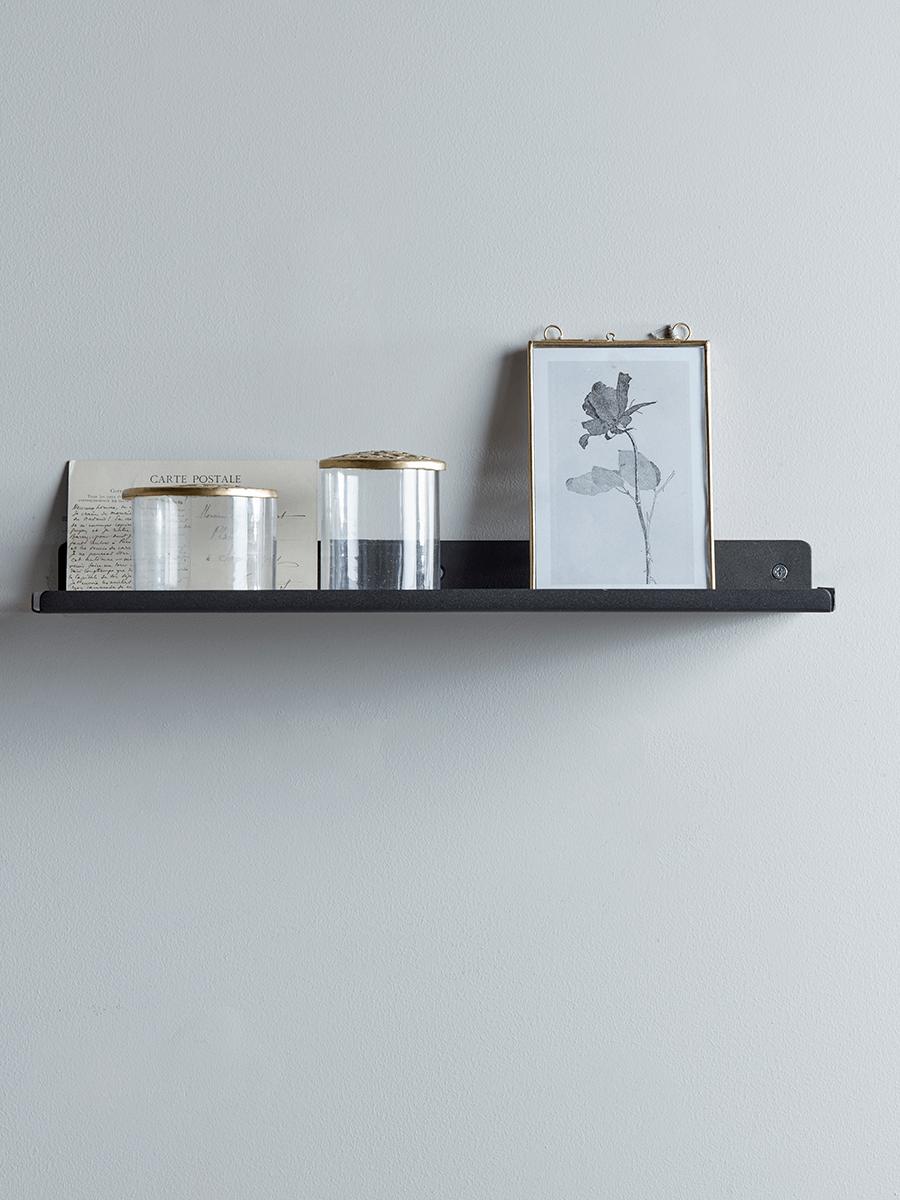 Slimline Metal Shelf - Black | Bathroom storage | Pinterest | Metal ...