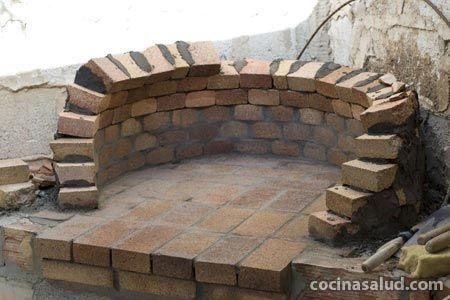 C mo construir un horno de le a paso a paso con fotos hornos pinterest ladrillos - Construir un horno de lena ...