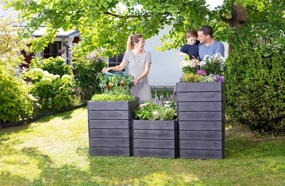 Ergo Quadro Raised Bed Planters By Graf In 2020 Raised Planter Beds Plants For Raised Beds Planters