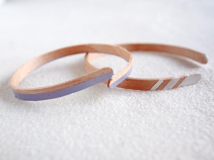 Wooden Coffee Stir Stick Bracelets via ice pandora
