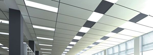 Captivating Flat Panel LEDs Interlectric Office Ceiling