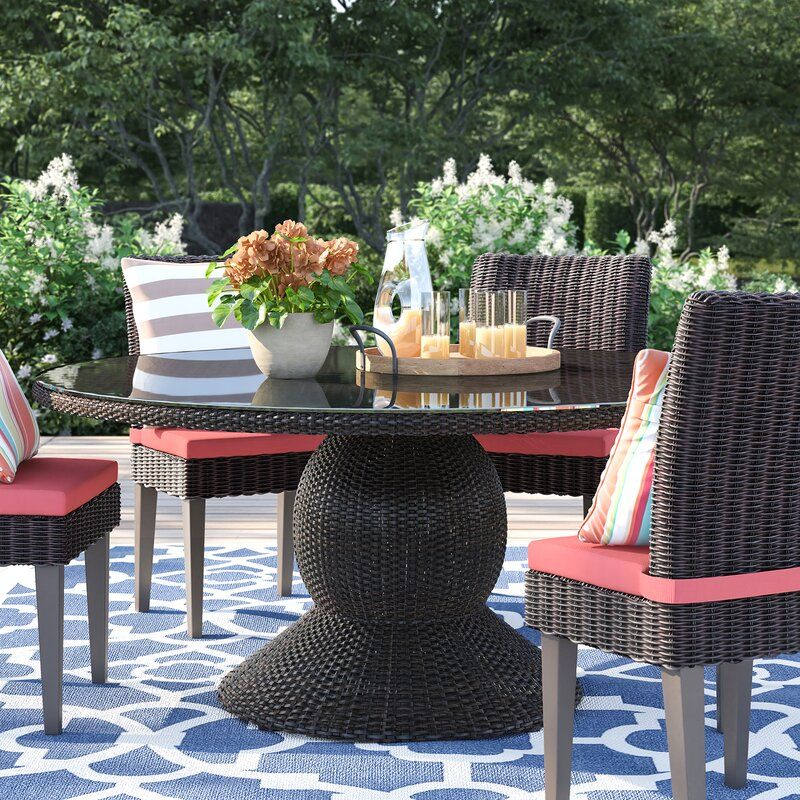 Stratford Dining Table Glass Dining Table Outdoor Dining Table