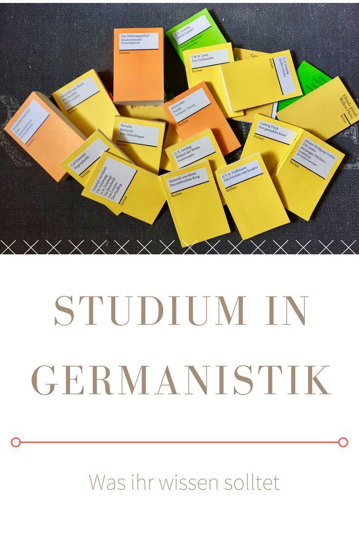 Germanistik Studieren Voraussetzungen