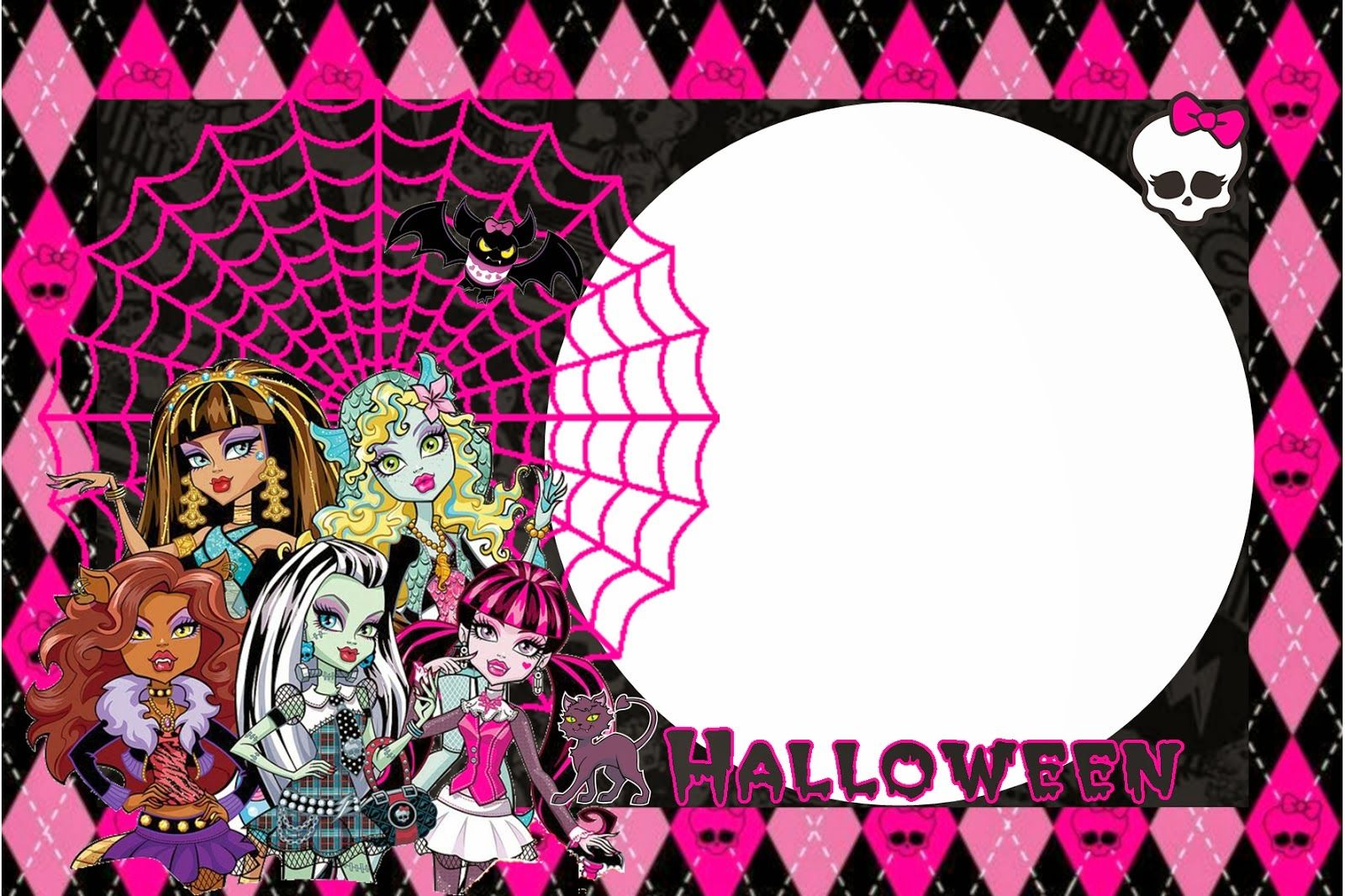 Monster High Halloween Special Free Printable Kit. | Monster High ...