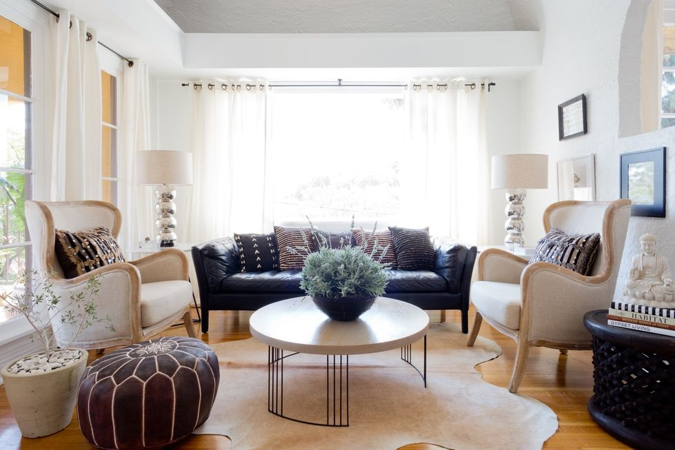 Modern Eclectic Design for a 1920's Spanish Style Bungalow ...
