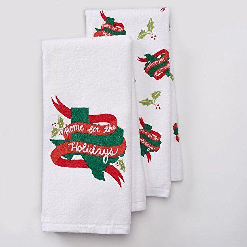 St Nicholas Square 2pc Texas Kitchen Towel Set Home For The
