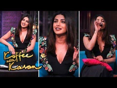 Priyanka Chopra On Koffee With Karan Season 5 Episode 12 Bollywood Galiyara Koffee With Karan Priyanka Chopra Chopra