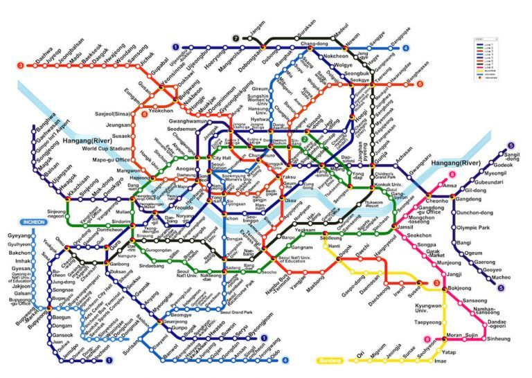 Ansan Seoul Subway Map.11 Of The Most Useful Travel Tips For Seoul Korea South Korea