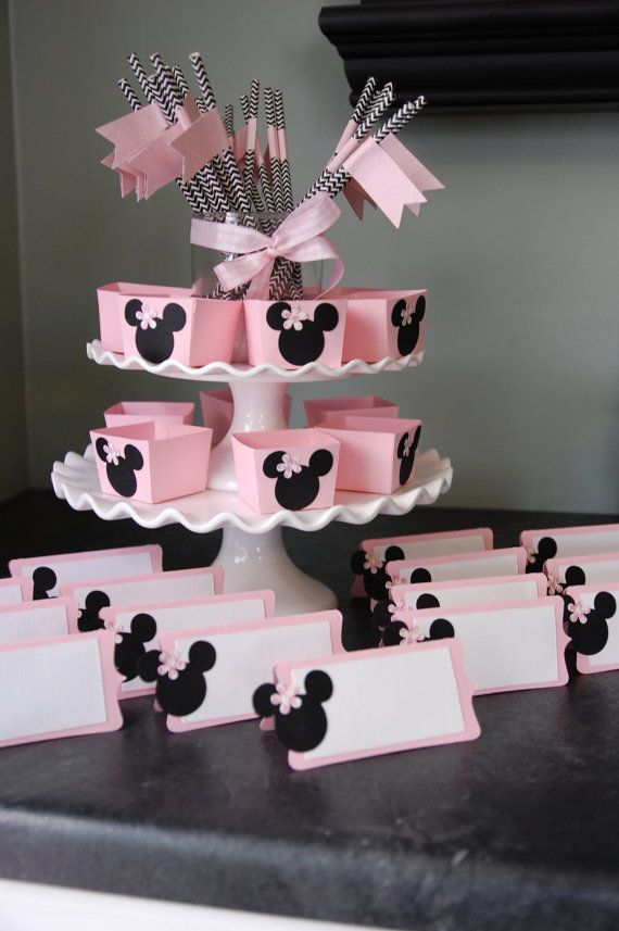 Minnie Mouse Decorations Package Minnie Mouse Candy Cups Minnie