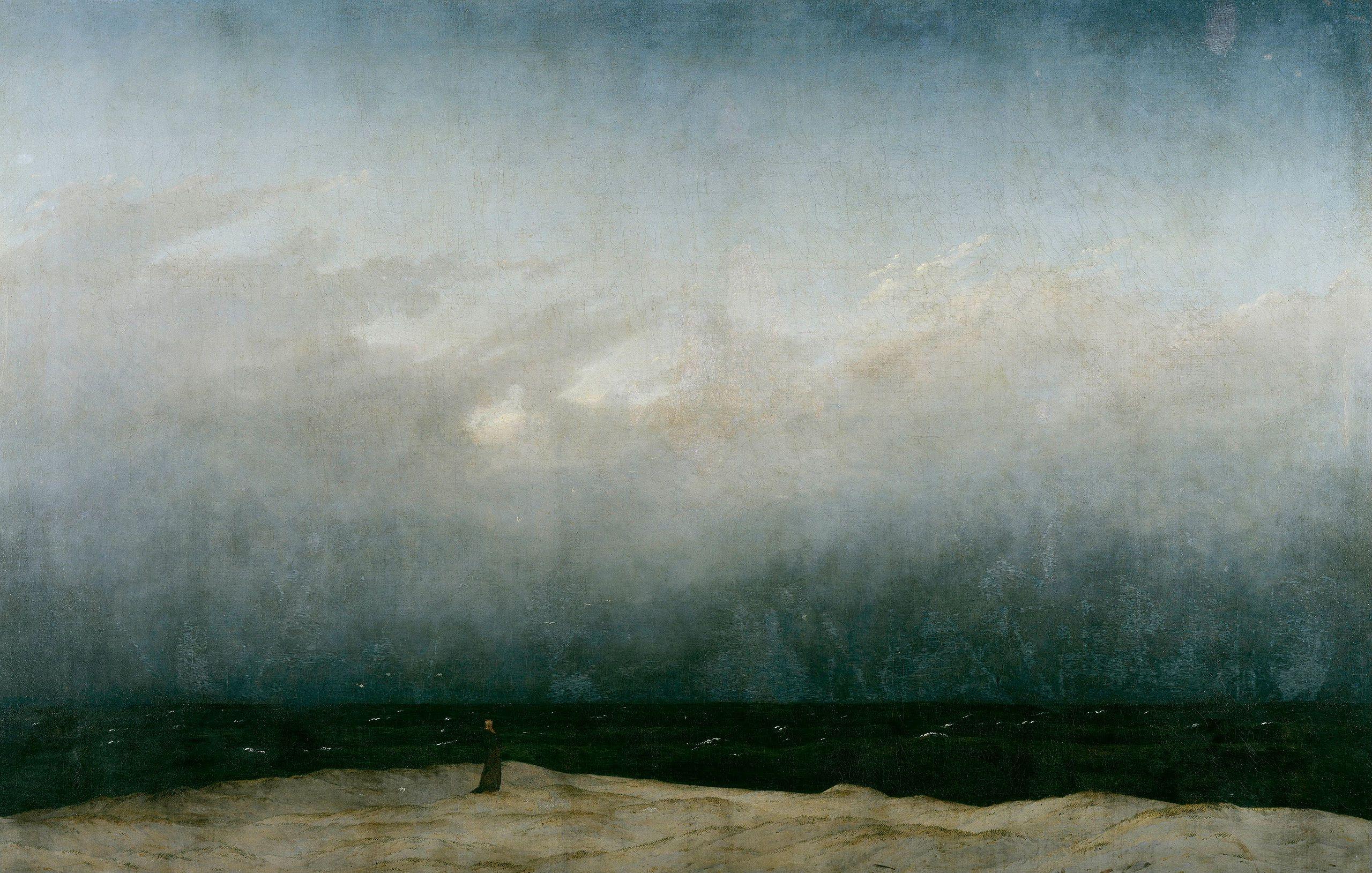 Caspar David Friedrich - Der Mönch am Meer - Google Art Project - Caspar David Friedrich – Wikipedia