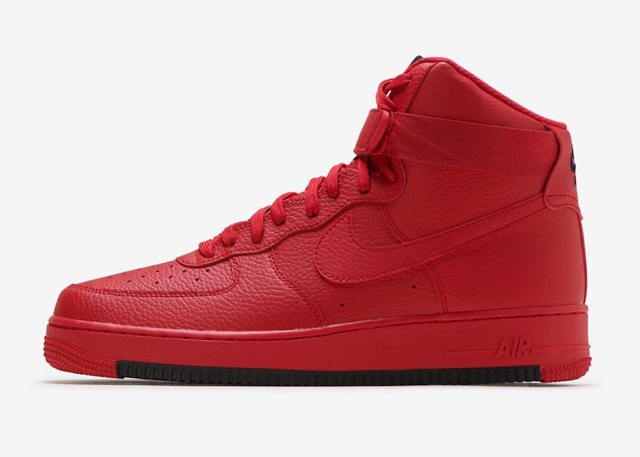 Nike Air Force 1 High University Red AO2440 600 Release Date