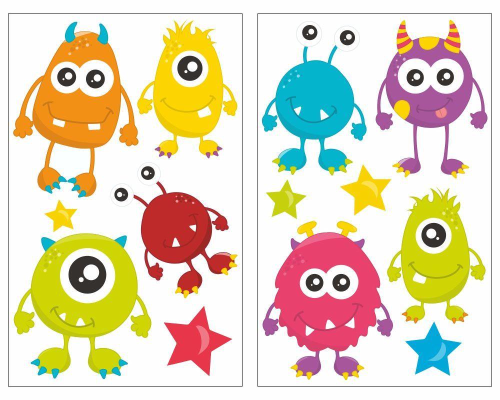 Fantastisch Süße Kleine Monster Malvorlagen Ideen ...