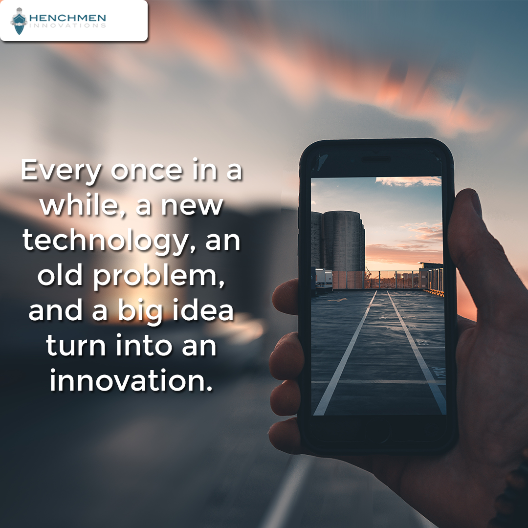 Every Once In A While A New Technology An Old Problem And A Big Idea Turn Into An Innovation New Technology Innovation Technology