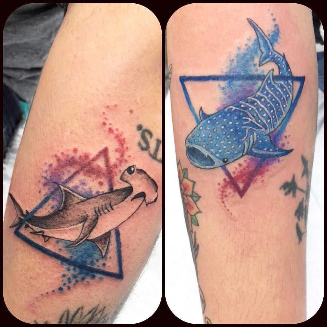 Siknaktattoo Shark Tattoos Tattoo Designs Whale Shark Tattoo