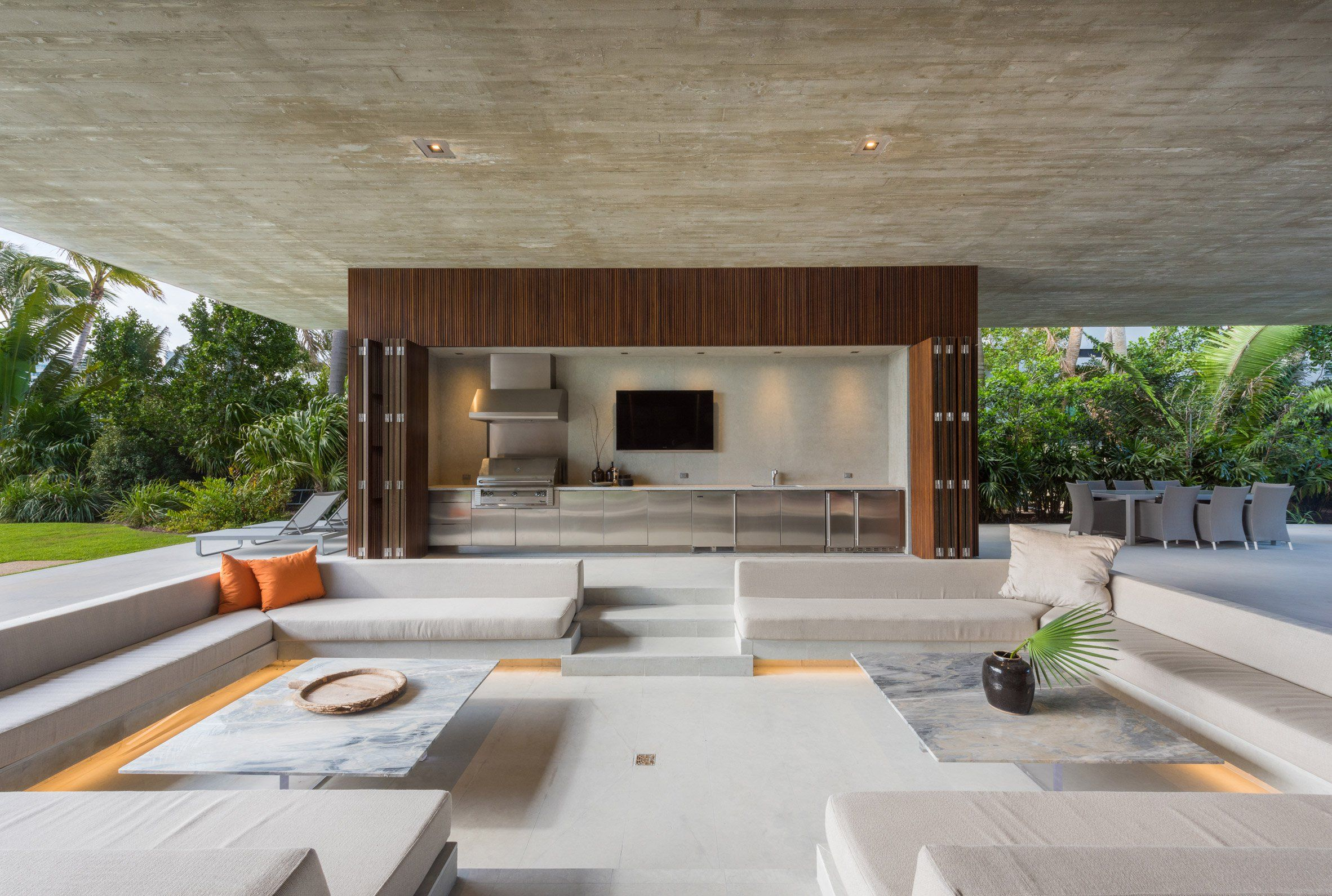 studio mk27 completes miami beach house with its own private studio mk27 completes miami beach house with its own private lagoon