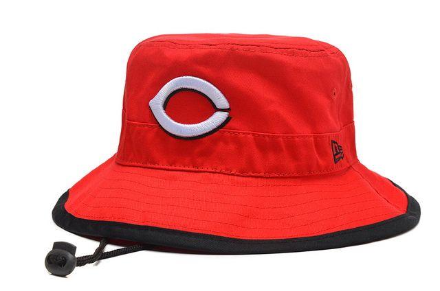 MLB BUCKET New Era Cincinnati Reds Fisherman Caps 012
