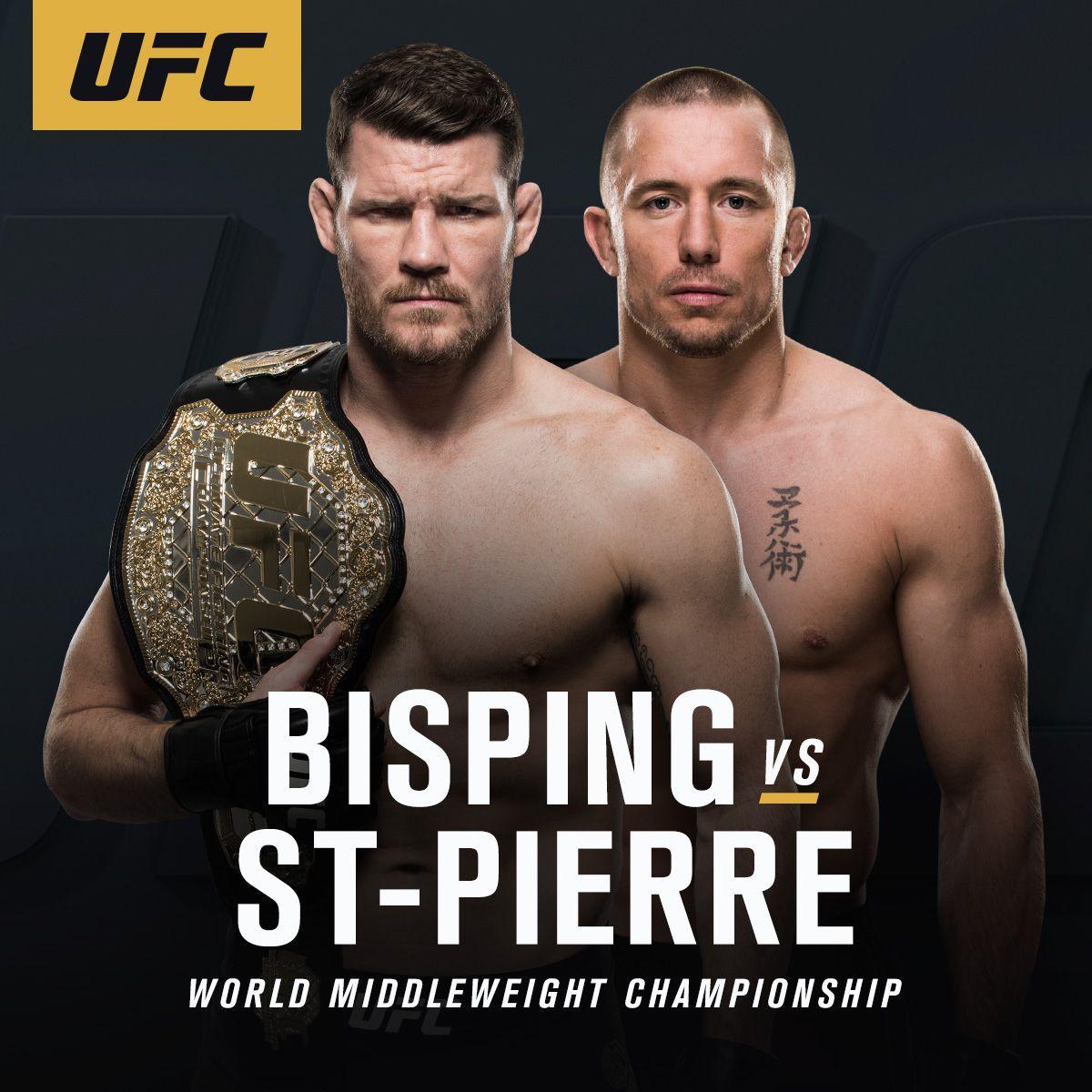 Watch!! Bisping vs StPierre online Live UFC Worldwide