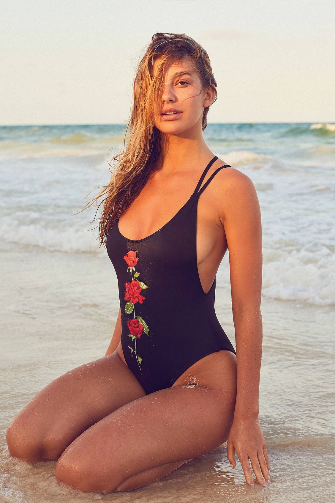 561c2f41d8 Slide View: 1: Out From Under Printed Scoop Back One-Piece Swimsuit