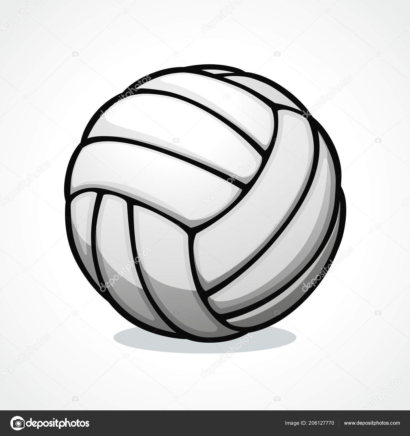 Vector Illustration Volleyball Ball Volleyball Designs Vector Free Icon Design