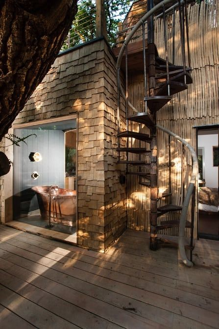Luxury Treehouse Built For Fun In The Forest Treehouse Hotel