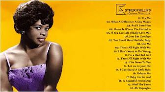 Esther Phillips - Please send me someone to love - YouTube