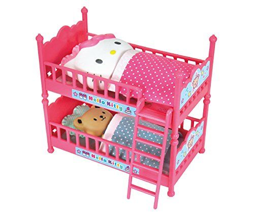 Hello Kitty Double Bunk Bed with Cushions Futons and Characters