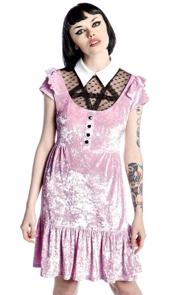 Delana Crushin' Doll Dress [PINK]