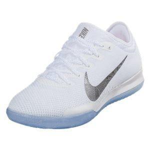 90e88518601 Nike Mercurial Vapor XII Pro IC Indoor Soccer Cleat - White Metallic Cool  Grey Total Orange