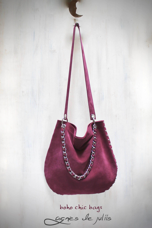 44d51fbcd54d Burgundy leather bag