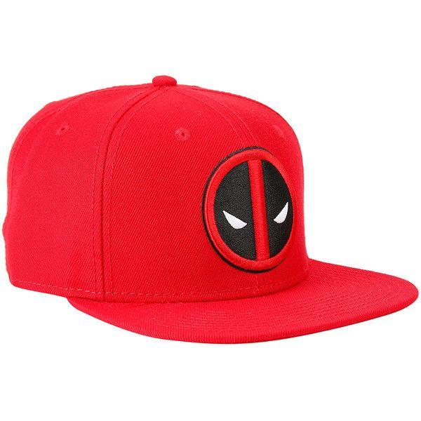 Marvel Deadpool Logo Snapback Hat (£12) ❤ liked on Polyvore featuring accessories, hats, snapbacks, deadpool, red, snapback hats, embroidered snapback hats, logo snapback hats, logo hats and red snapback hat
